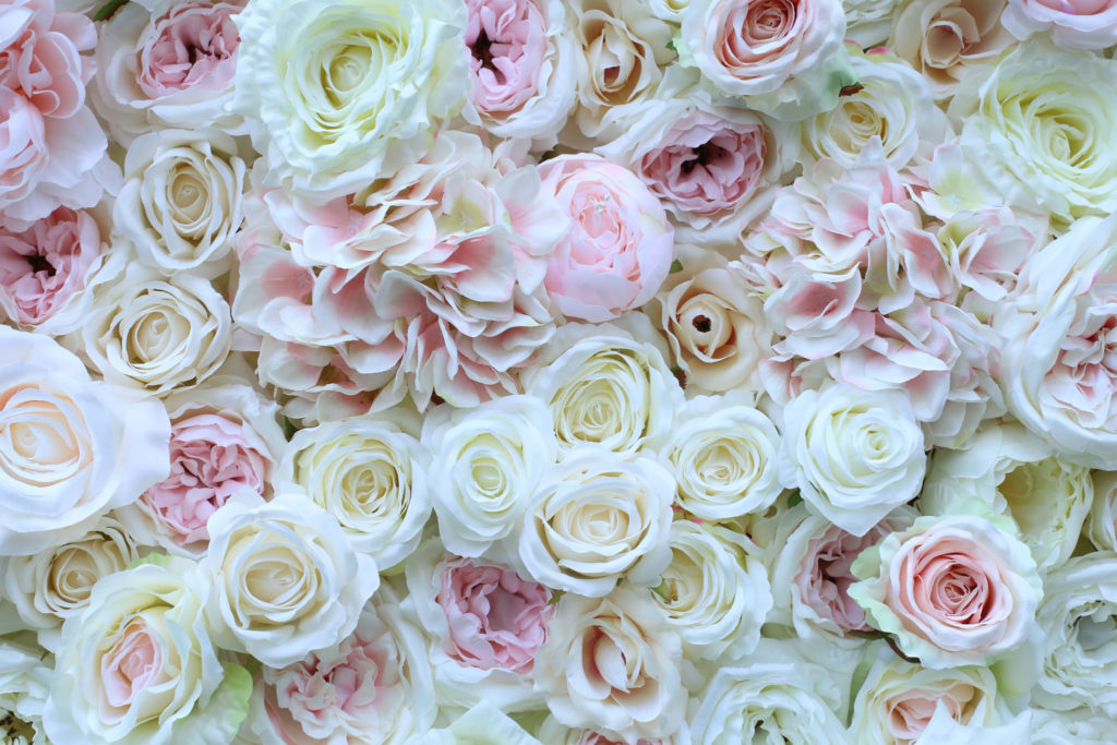 Ścianka Kwiatowa JASNA Funny Flower