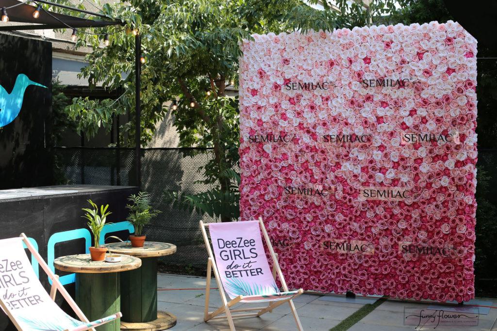Ścianka Kwiatowa OMBRE Funny Flower
