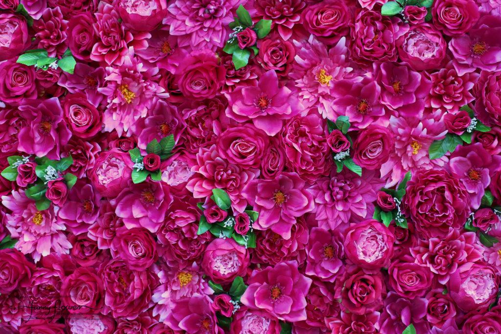 Funny Flower scianka kwiatowa fuksja