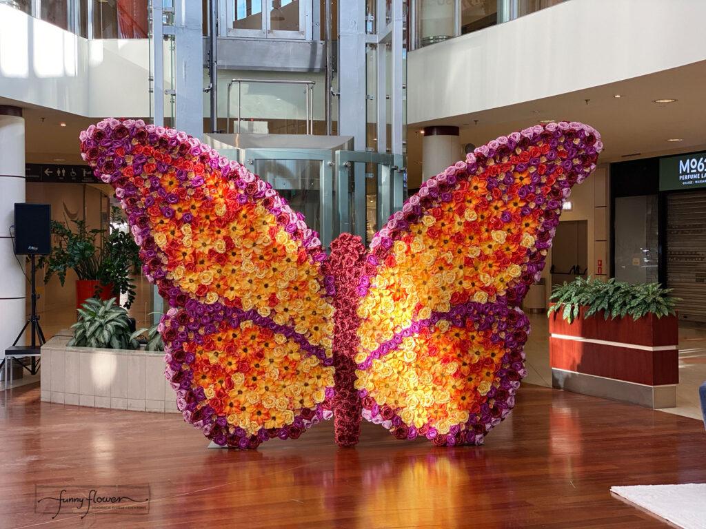 Kwiatowy Motyl Funny Flower